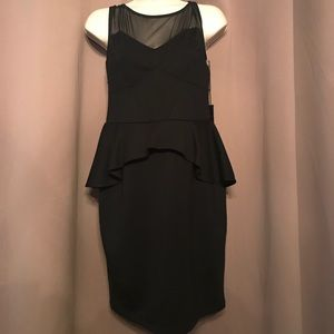 Poof Couture Dresses - Sexy black dress size large NWT